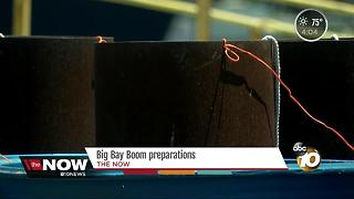 Big Bay Boom fireworks preparations - Video