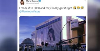 Marie Osmond teases brother Donny