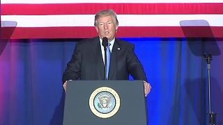 President Trump threatens Donnelly with campaigning against him if he doesn't support tax reform - Video