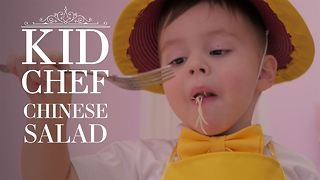 Kid Chef: How (not) to cook Chinese Salad - Video