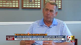 John Boehner discusses Singapore summit - Video