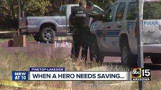 Good Samaritan helps save injured Pinetop officer - Video