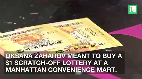 Mom Wins $5,000,000 off Lotto Ticket Cashier Wasn't Supposed to Give Her