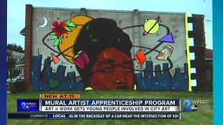 Mural Artist Apprenticeship Program - Video
