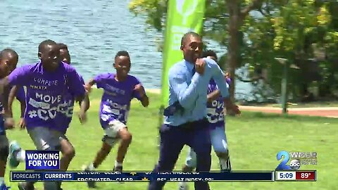 Baltimore's first Charm City Games underway