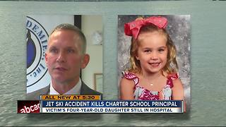 Jet ski accident kills charter school principal - Video