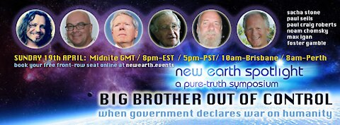 """Big Brother - Out of Control"" - Co-Hosted by Sacha Stone & Paul Seils - A Pure Truth Symposium"