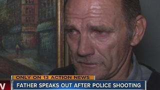 Father speaks out after officer-involved shooting - Video