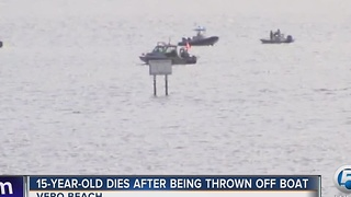 Teenager dies in boating accident - Video
