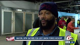 Indy Snow Force preparing for winter weather - Video