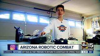 Arizona Robotic Combat looking to expand with new arena - Video