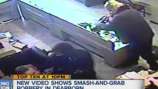 Dearborn smash and grab caught on tape - Video