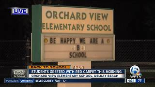 Orchard View Elementary School ready to begin new school year - Video