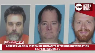 6 arrested in human trafficking investigation, one at large