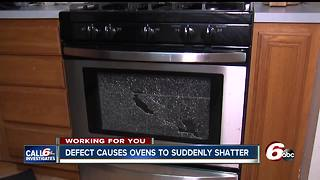Oven doors spontaneously shatter, yet no recall issued - Video