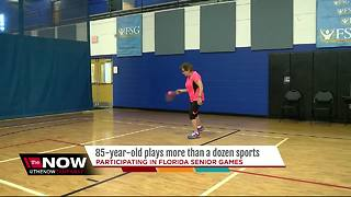 85-year-old participating in Florida Senior Games - Video