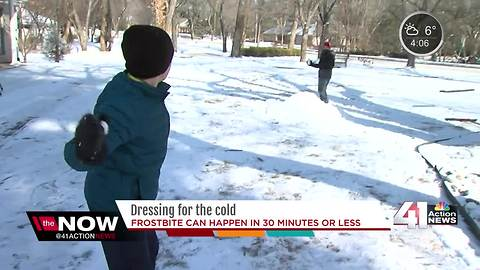 Kids play outside with careful supervision