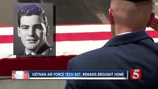 After Nearly 50 Years, Air Force Tech. Sgt. Remains Return Home - Video