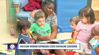 Day care workers worry about COVID-19 exposure