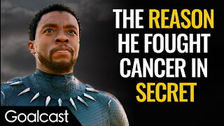 Chadwick Boseman Never Stopped Being a Hero | Life Stories by Goalcast