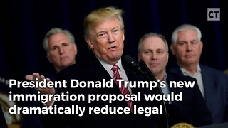 Trump's Plan Cuts Immigration To Levels Not Seen Since 1920s
