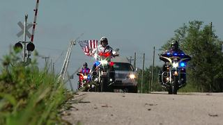 Funeral procession for fallen Highlands County Deputy