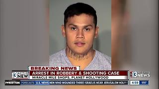 Police arrest suspect in connection with Miracle Mile shooting