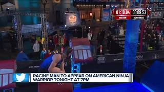 Racine man to compete on American Ninja Warrior - Video