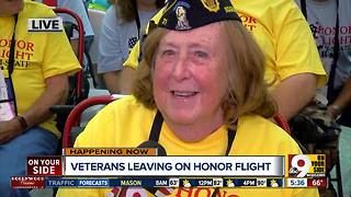 72 local veterans prepare to visit DC with latest honor flight - Video