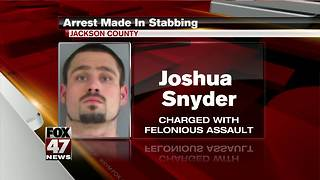 Man accused of stabbing another man in ex-girlfriend's apartment - Video