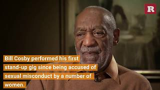 Bill Cosby performs for first time since sexual misconduct allegations | Rare People - Video