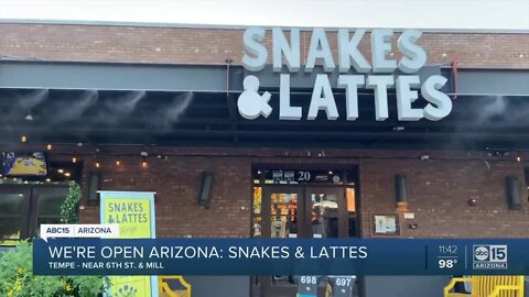 Were Open Arizona: Find more than 1,000 games at Snakes and Lattes