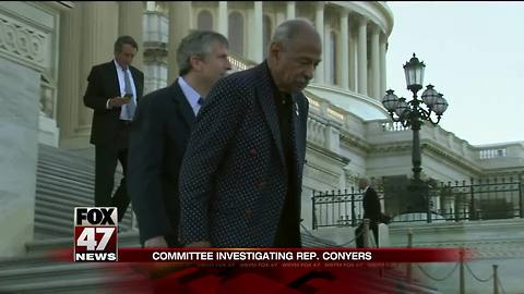 Ethics probe begins after Conyers confirms harassment deal