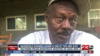 Baltimore Police investigate shooting of Bakersfield business owner