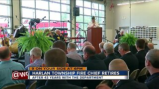 Harlan Twp's only Fire chief retires