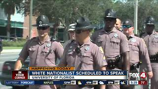 University of Florida makes last minute preparations for white nationalist speech - Video