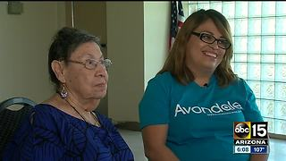 Senior center worker saves woman hurt at Avondale home - Video