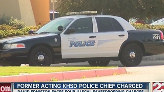 Former acting KHSD police chief charged