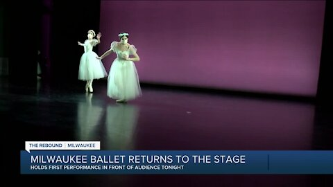 Milwaukee Ballet leads with return to in-person performances