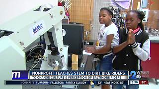 STEM program helps change dirt bike culture - Video