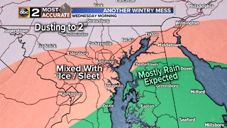 Another Round of Wintry Weather On The Way - Video