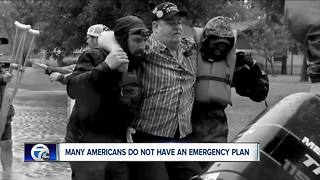 Many Americans do not have an emergency plan or kit - Video