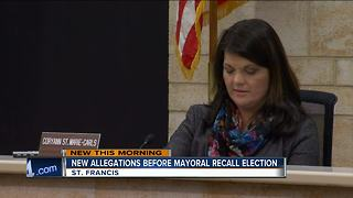 Special recall election for St. Francis mayor Tuesday - Video