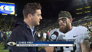 Chris Frey on Michigan State's win over Michigan - Video
