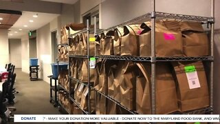 Maryland Food Bank launches first food pantry inside a health care setting