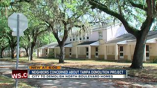 Neighbors concerned about Tampa demolition project - Video