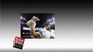 Stafford has the largest NFL Contract! - Video