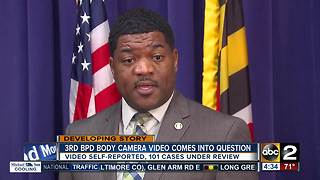 Third body-worn camera video found regarding questionable activity with Baltimore Police