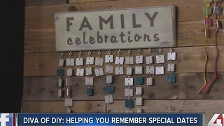 Diva of DIY: helping you remember special dates - Video