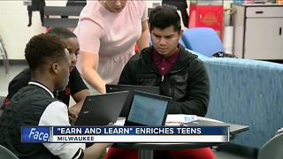 Earn and Learn program helps students get valuable professional experience - Video